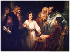 jesus perdu a 12 ans
