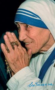 Prière Mère Thérésa